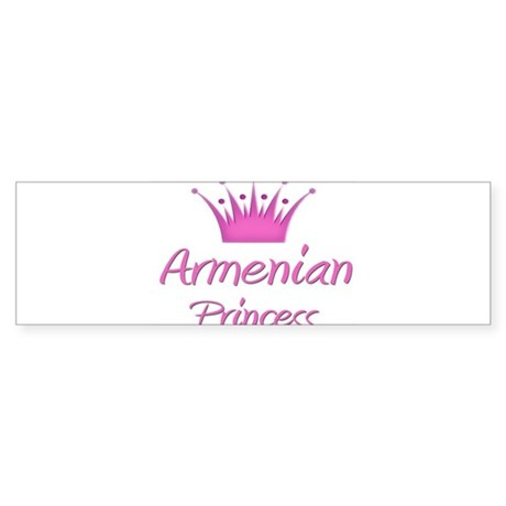 Armenian Princess Bumper Sticker