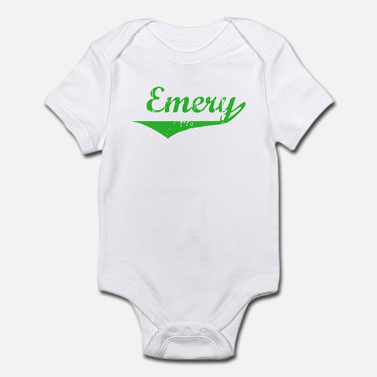 Emery Vintage (Green) Infant Bodysuit