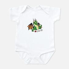 Green Bookdragon Infant Bodysuit