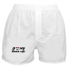 I love my dutch wife Boxer Shorts