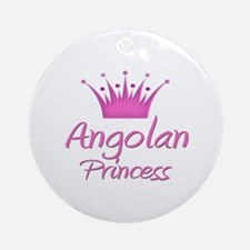 Angolan Princess Ornament (Round)
