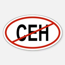 CEH Oval Decal