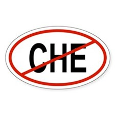 CHE Oval Decal