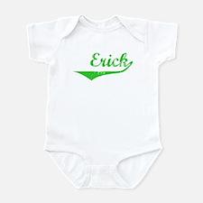 Erick Vintage (Green) Infant Bodysuit