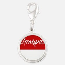 inspiration text- champion frame red Charms