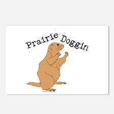 Prairie Doggin Postcards (Package of 8)