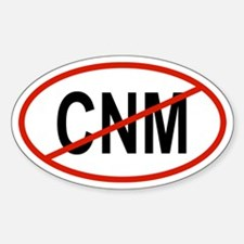CNM Oval Decal