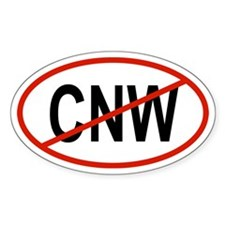 CNW Oval Decal