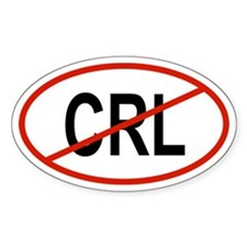 CRL Oval Decal