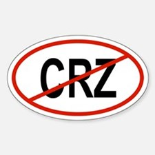 CRZ Oval Decal