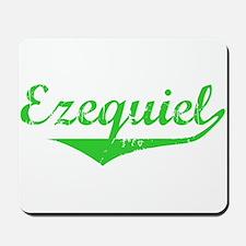 Ezequiel Vintage (Green) Mousepad