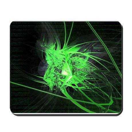 Abstract Green Mousepad
