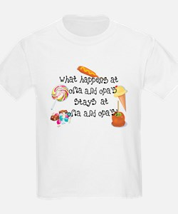 What Happens at Oma and Opa's... T-Shirt