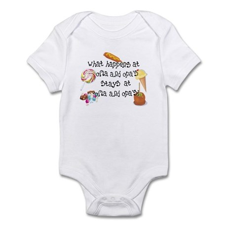 What Happens at Oma and Opa's... Infant Bodysuit