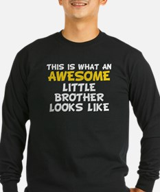 Awesome Little Brother Long Sleeve T-Shirt