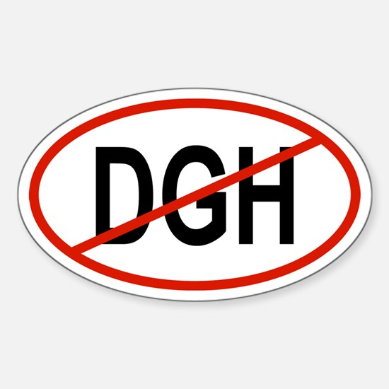 DGH Oval Decal