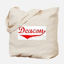 Deacon Vintage (Red) Tote Bag