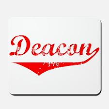 Deacon Vintage (Red) Mousepad