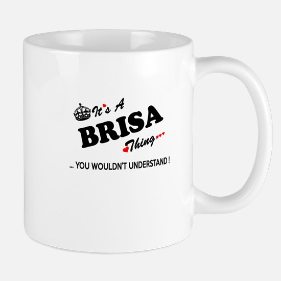 BRISA thing, you wouldn't understand Mugs