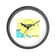 Unique Montenegro Wall Clock