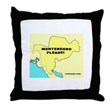 Cute Improv comedy Throw Pillow