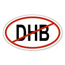 3-DHB Oval Decal