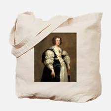 Lady with a Fan by Sir Anthony van Dyck Tote Bag