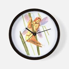 The Grass Fairy Wall Clock
