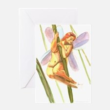 The Grass Fairy Greeting Card