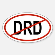 DRD Oval Decal