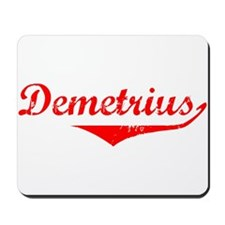 Demetrius Vintage (Red) Mousepad