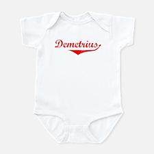 Demetrius Vintage (Red) Infant Bodysuit