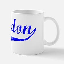 Braydon Vintage (Blue) Mug