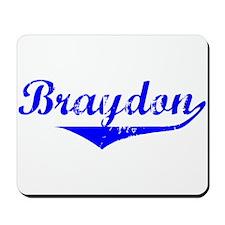 Braydon Vintage (Blue) Mousepad