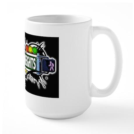 Jackson Heights (Black) Large Mug