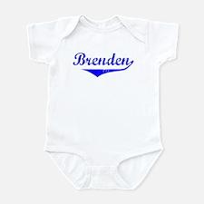 Brenden Vintage (Blue) Infant Bodysuit