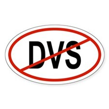 DVS Oval Decal