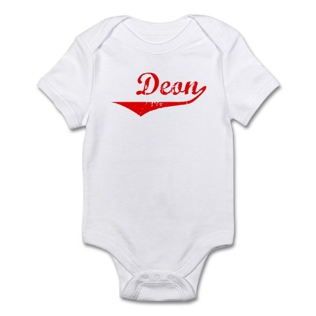 Deon Vintage (Red) Infant Bodysuit