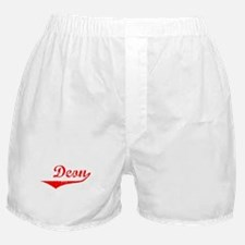 Deon Vintage (Red) Boxer Shorts