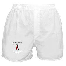Superheroine Engineer Boxer Shorts