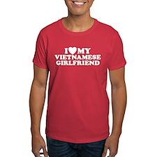 I Love My Vietnamese Girlfriend T-Shirt