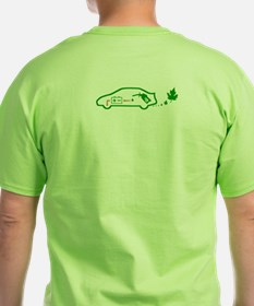 NEW! Front/Back Toyota Prius Green Shirt Gift