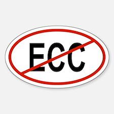 ECC Oval Decal