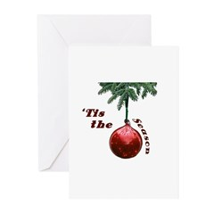 'Tis the Season Greeting Cards (Pk of 20)