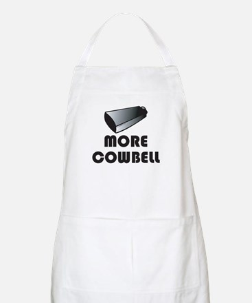 More Cowbell BBQ Apron