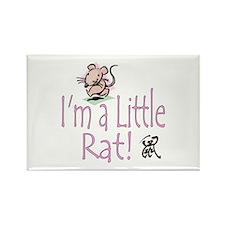 I'm a Rat Rectangle Magnet