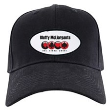Poker - Bluffy McLiarpants Baseball Hat
