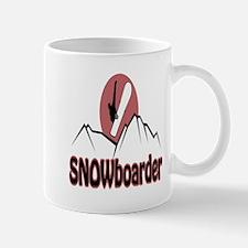 Snowboarder Logo Mug