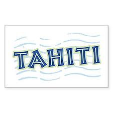 Tahiti Rectangle Decal