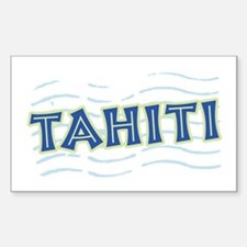 Tahiti Rectangle Decal